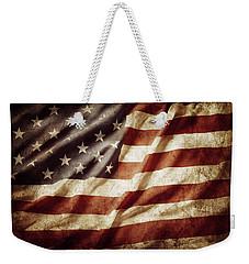 American Flag 53 Weekender Tote Bag