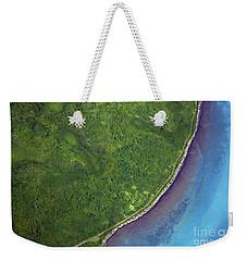 Iceland Aerial Photo Weekender Tote Bag