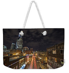 2nd Ave And Broadway Weekender Tote Bag