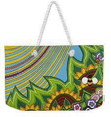 Sunflowers Weekender Tote Bag by Rojax Art