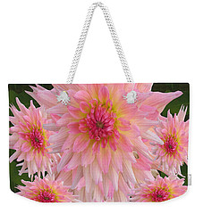 Abstract Flower Floral Photography And Digital Painting Combination Mixed Media By Navinjoshi       Weekender Tote Bag