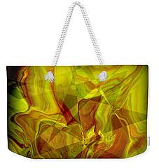 Abstract 27 Weekender Tote Bag