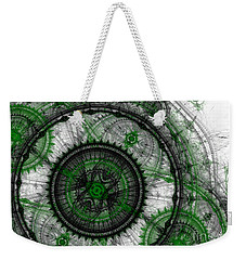 Abstract Mechanical Fractal Weekender Tote Bag