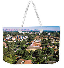 Aerial View Of Stanford University Weekender Tote Bag by Panoramic Images