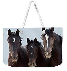 3 Amigos Wild Mustang Weekender Tote Bag