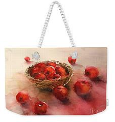 Apples  Apples Weekender Tote Bag