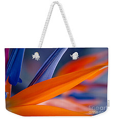 Weekender Tote Bag featuring the photograph Art By Nature by Sharon Mau