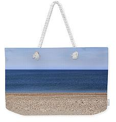 Color Bars Beach Scene Weekender Tote Bag