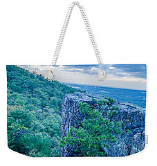 Beautiful Aerial Landscape Views From Crowders Mountain Near Gas Weekender Tote Bag