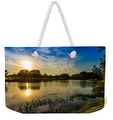 Berry Creek Pond Weekender Tote Bag