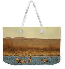 Birds In Bosque Weekender Tote Bag