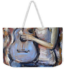 Blue Guitar 010709 Weekender Tote Bag