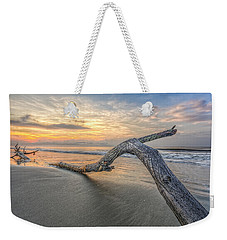 Bough In Ocean Weekender Tote Bag by Peter Lakomy