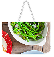Broccoli Stems Weekender Tote Bag