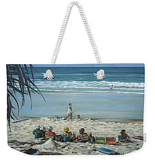 Burleigh Beach 220909 Weekender Tote Bag by Selena Boron