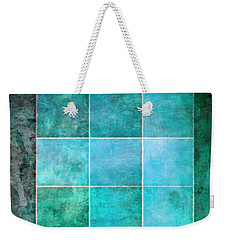 3 By 3 Ocean Weekender Tote Bag by Angelina Vick