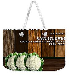 Cauliflower Farm Weekender Tote Bag