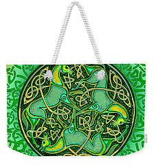 3 Celtic Irish Horses Weekender Tote Bag