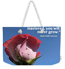 Choose Your Quote Choose Your Picture 21 Weekender Tote Bag