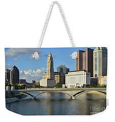 Columbus Ohio Skyline Photo Weekender Tote Bag