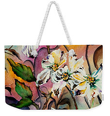 Dance Of The Dogwoods Weekender Tote Bag