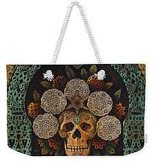 Dia De Muertos Madonna Weekender Tote Bag