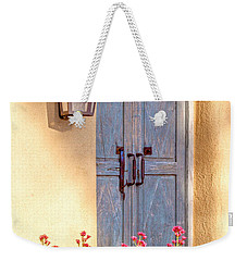 Doors Of Santa Fe Weekender Tote Bag by Roselynne Broussard