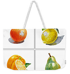 Farmers Market Delight  Weekender Tote Bag by Irina Sztukowski