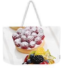 Fruit Tarts Weekender Tote Bag by Elena Elisseeva