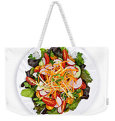 Garden Salad Weekender Tote Bag by Elena Elisseeva