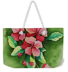Geraniums Weekender Tote Bag