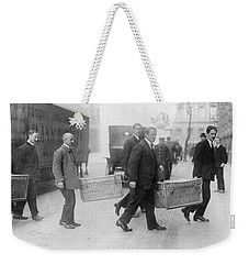 Weekender Tote Bag featuring the photograph Germany Inflation, 1923 by Granger