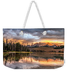 Golden Sunrise Weekender Tote Bag by Robert Bales