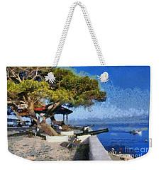Hydra Island Weekender Tote Bag