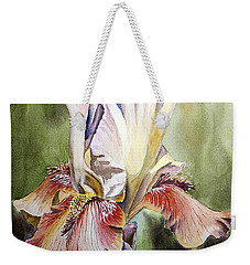 Iris Painting Weekender Tote Bag