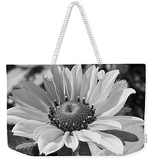 Just A Flower Weekender Tote Bag by Janice Westerberg