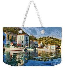 Kastellorizo Island Weekender Tote Bag