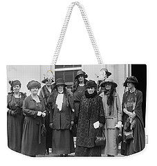 Weekender Tote Bag featuring the photograph League Of Women Voters by Granger