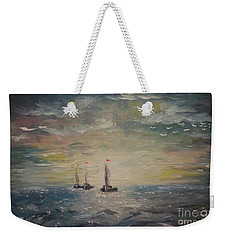 3 Little Boats Weekender Tote Bag
