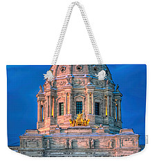 Minnesota State Capitol St Paul Weekender Tote Bag by Amanda Stadther