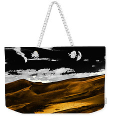 Night At The Great Sand Dunes Weekender Tote Bag