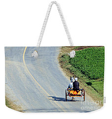 Onward And Upward Weekender Tote Bag