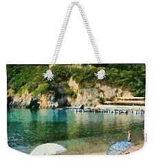 Paleokastritsa Beach Weekender Tote Bag