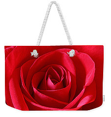 Red Rose Weekender Tote Bag by Peter Lakomy