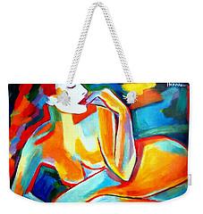 Weekender Tote Bag featuring the painting Repose by Helena Wierzbicki