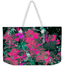 Rose 72 Weekender Tote Bag by Pamela Cooper