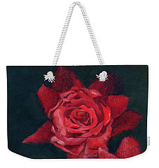 3 Roses Red Weekender Tote Bag