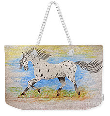 Running Free Weekender Tote Bag by Debbie Portwood