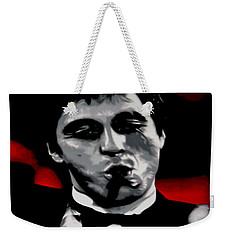 Scarface 2013 Weekender Tote Bag by Luis Ludzska