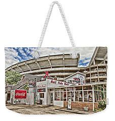 Shadow Of The Stadium Weekender Tote Bag